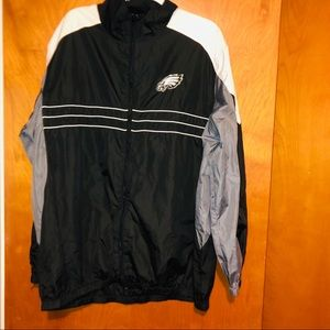 Men nfl Philadelphia eagles windbreaker jacket xxl